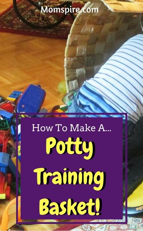 potty training basket