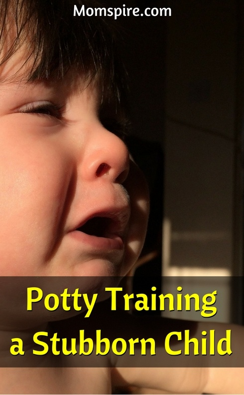 potty train stubborn child