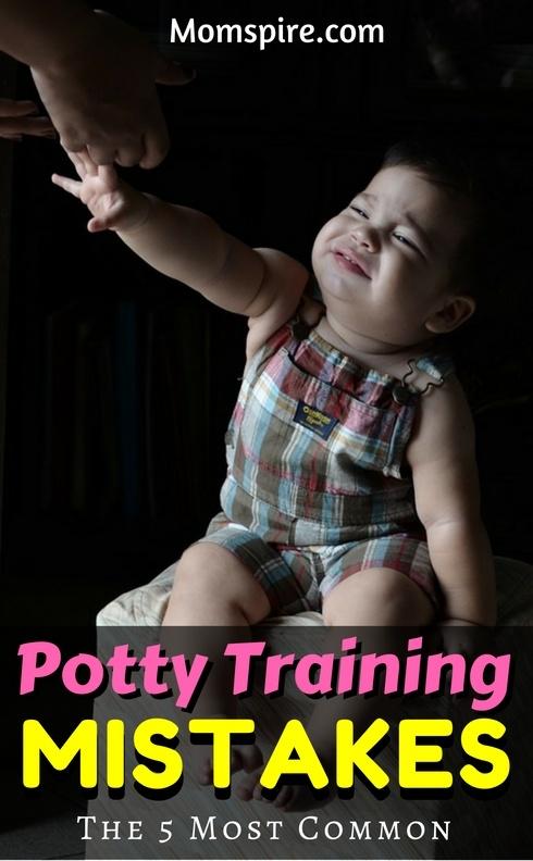 potty training mistakes